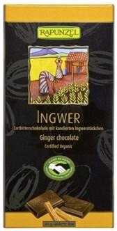 BIO čokolada z ingverjem Rapunzel 80g