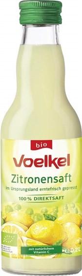 BIO limonin sok 100% Voelkel 0,2l