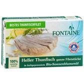 Ribe tuna Fontaine v sončničnem olju 120g