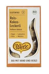 BIO riževi keksi s kokosom Werz 125g