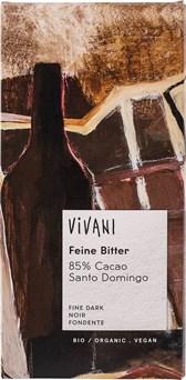 BIO temna čokolada 85% Vivani 100g