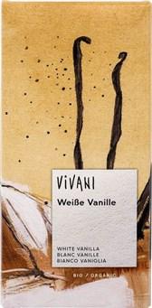 BIO bela čokolada Vivani z vanilijo 80g