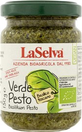 BIO omaka Pesto Verde bazilika LaSelva 130g
