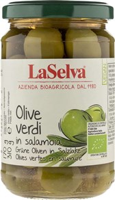 BIO zelene olive La Selva 310g