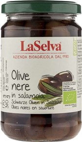 BIO črne olive La Selva 310g