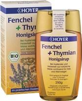 BIO medeni sirup Hoyer s timijanom in komarčkom