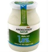 Jogurt Andechser naravni 1,8%  500 g