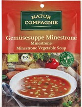 BIO zelenjavna juha mineštrone Natur Compagnie 50g
