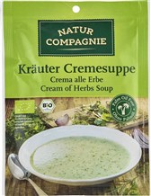 BIO kremna juha z zelišči Natur Compagnie 38g