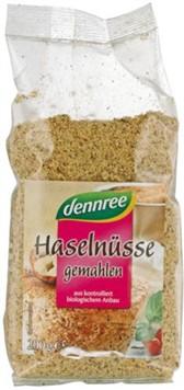 Lešniki mleti praženi Dennree 200 g
