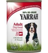 Hrana za pse koščki govedine Yarrah 405 g