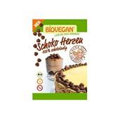 Srčki čokoladni okrasni z riževo čokolado Biovegan 35 g