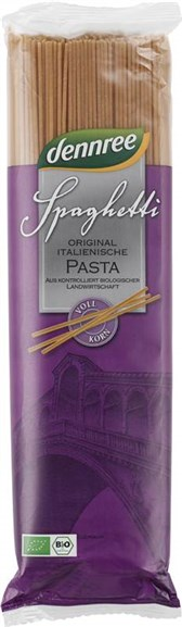 BIO testenine polnozrnati špageti DEN 500g