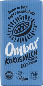 BIO čokolada temna s kokosovim mlekom Ombar 35g