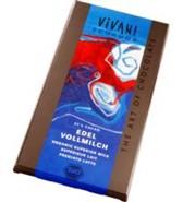 Čokolada mlečna s 37% kakava Vivani 100 g