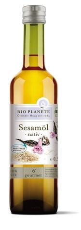 BIO olje sezamovo hladno stiskano Bio Planete 0,5 l
