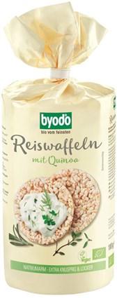 BIO riževi vaflji s kvinojo Byodo 100g
