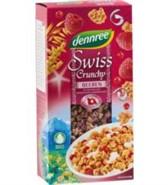 Kosmiči z jagodičevjem Swiss Crunchy dennree 375 g