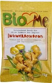 BIO bonboni z ingverjem BioLovesMe 75g
