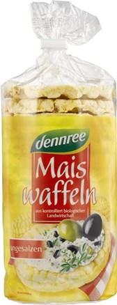 BIO koruzni vaflji brez soli DEN 110g
