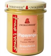 Namaz papaja in mango Papayango Zwergenwiese 160 g