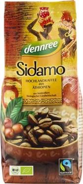 BIO pražena kava Sidamo DEN 250g