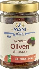 BIO črne olive Kalamata Mani Bläuel 205g