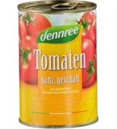 BIO paradižniki celi olupljeni v omaki DEN 400 g
