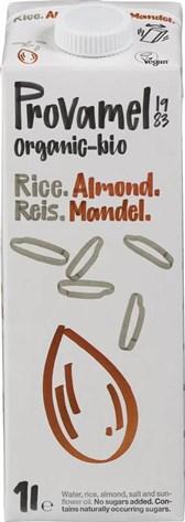 BIO rižev napitek z mandlji Provamel 1l