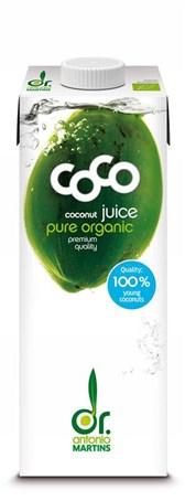 BIO kokosova voda Dr.Martins 1l