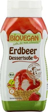 BIO preliv za sladice jagoda Biovegan 240g