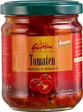 BIO paradižniki polsušeni v zeliščnem olju Gustoni 190 g