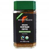 BIO kava Arabica Mount Hagen instant brez kofeina 100g