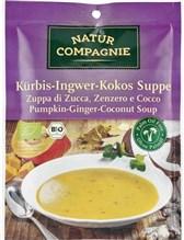 BIO bučna juha z ingverjem in kokosom Natur Compagnie 40g