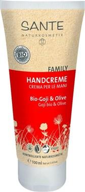 Krema za roke z bio goji jagodami in olivo Sante 100ml