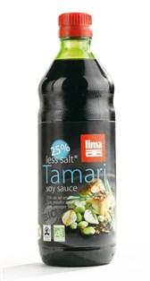 BIO sojina omaka Tamari z manj soli Lima 250ml