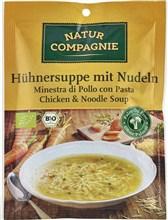 BIO piščančja juha s testeninami Natur Compagnie 40g