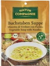 BIO zelenjavna juha abeceda Natur Compagnie 50g
