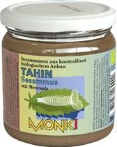 BIO sezamova kaša Tahin s soljo Monki 330g