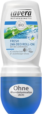 Deodorant sveži z limonsko travo roll-on Lavera 50ml