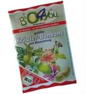 Bonboni z zelišči Bio4you 75g
