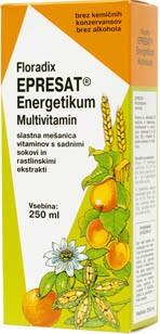 Sirup Epresat Energetikum Floradix 250 ml