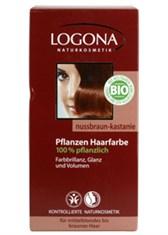 Barva za lase kostanjeva Logona  100 g