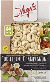 BIO testenine tortellini s šampinjoni D'Angelo 250g