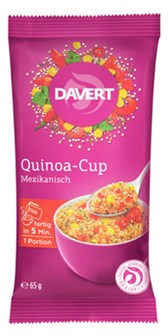 Kvinojina mehiška skodelica Davert 65 g