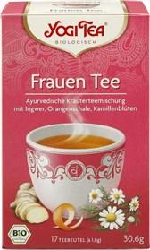 BIO čaj za ženske YogiTea Golden Temple 17x1,8g