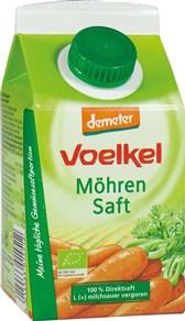 BIO korenčkov sok prevret z mlečno kislino Voelkel 0,5l