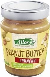 BIO arašidov namaz Crunchy Allos 227g