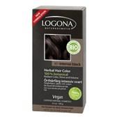 Barva za lase intenzivna črna Logona 100 g