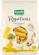 BIO testenine pšenični rigatoni byodo 500g